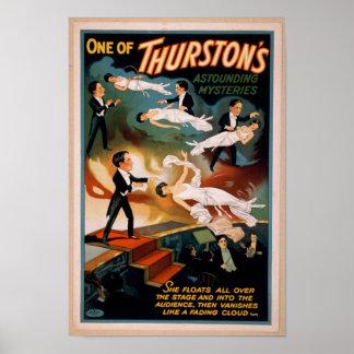 Thurstons erstaunliches Geheimnis-Magie-Plakat Poster