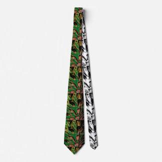 Ti-Zeit Bedruckte Krawatte