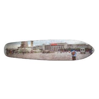 Tianmen-Quadrat in Peking 18,1 Cm Old School Skateboard Deck