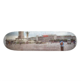 Tianmen-Quadrat in Peking 18,4 Cm Mini Skateboard Deck