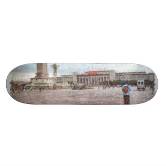 Tianmen-Quadrat in Peking Personalisiertes Skateboard