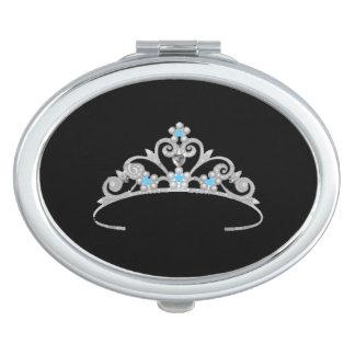 Tiara-Vertrags-Spiegel Miss Amerika-Rodeo USA Taschenspiegel