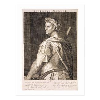 Tiberius Caesar (ANZEIGE 10 BC - 54) Kaiser von Postkarte