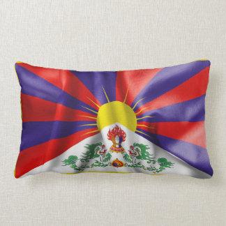 Tibet-Flagge Lendenkissen