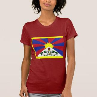 Tibet-Flagge T-Shirt