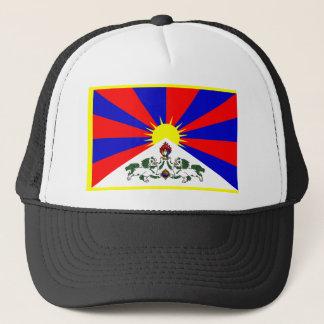 Tibet-Flagge Truckerkappe