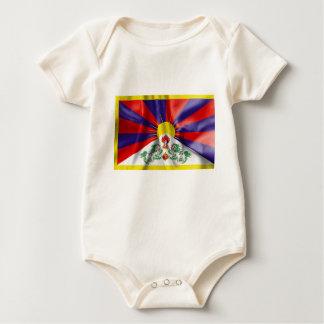 Tibet-Flaggen-Baby-Spielanzug Baby Strampler