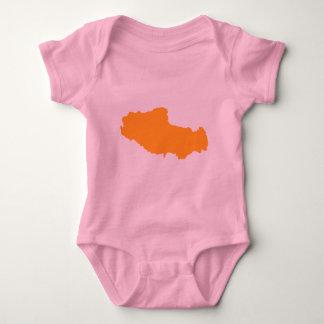 Tibet-Karte T Shirts
