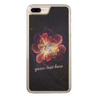Tibet-SeeBlume | iPhone Samsungs-Holz Carved iPhone 8 Plus/7 Plus Hülle