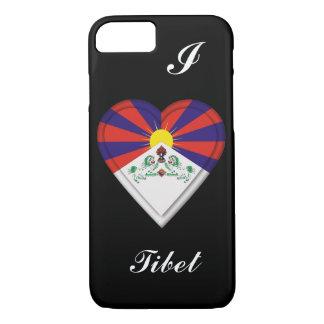 Tibet-Tibetanerflagge iPhone 8/7 Hülle