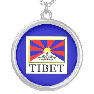 Tibet Versilberte Kette