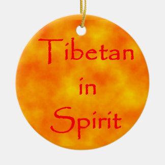 Tibetaner in Geist-Kreis Verzierung Keramik Ornament