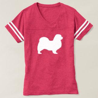 Tibetanische Spaniel-Silhouette T-shirt