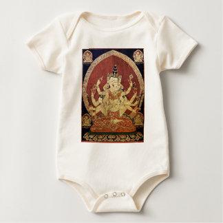 TIBETANISCHE THANGKA KUNST BABY STRAMPLER