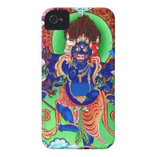 Tibetanischer Buddhismus buddhistisches Thangka iPhone 4 Etuis