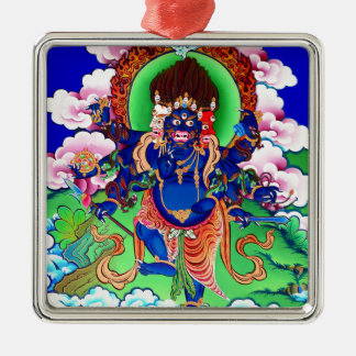 Tibetanischer Buddhismus buddhistisches Thangka Silbernes Ornament