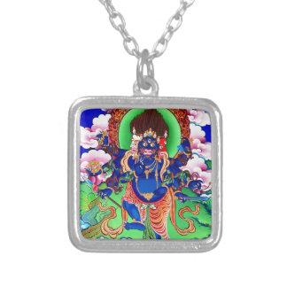 Tibetanischer Buddhismus buddhistisches Thangka Versilberte Kette