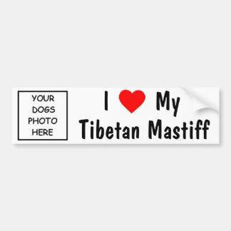 Tibetanischer Mastiff Autoaufkleber