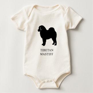 Tibetanischer Mastiff Baby Strampler