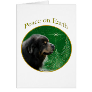 Tibetanischer Mastiff-Frieden Karte