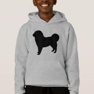 Tibetanischer Mastiff-Gang Hoodie