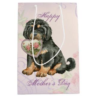 Tibetanischer Mastiff-Herz-Mamma Mittlere Geschenktüte