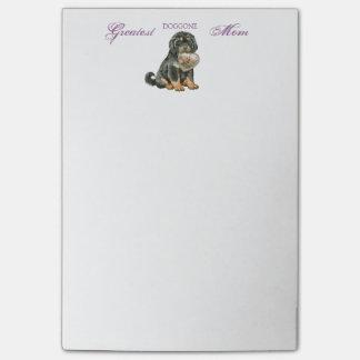 Tibetanischer Mastiff-Herz-Mamma Post-it Haftnotiz