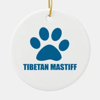 TIBETANISCHER MASTIFF-HUNDEentwürfe Keramik Ornament
