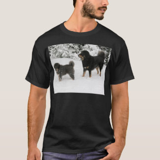 Tibetanischer Mastiff Jampo u. Milo T-Shirt