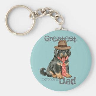 Tibetanischer Mastiff-Vati Schlüsselanhänger