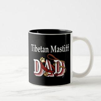 Tibetanischer Mastiff-Vati-Tasse Zweifarbige Tasse