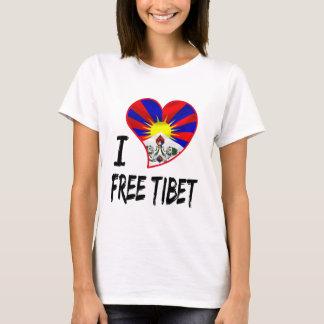 tibetanisches Herz T-Shirt