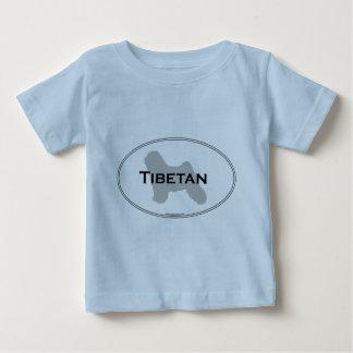 Tibetanisches Oval Baby T-shirt