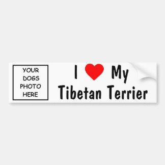 Tibetanisches Terrier Autoaufkleber