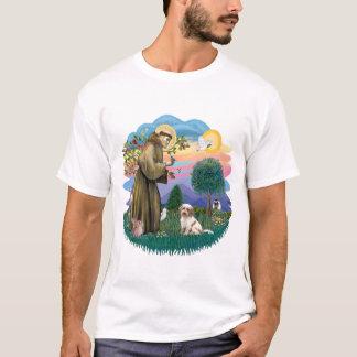 Tibetanisches Terrier (Creme-braun) T-Shirt