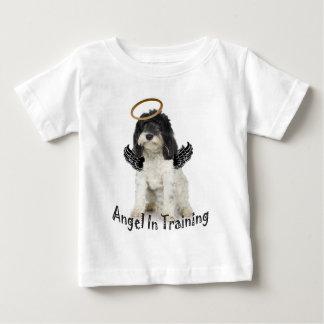Tibetanisches Terrier-Engel im Training Baby T-shirt