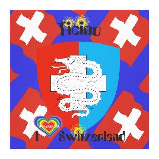 Ticino Schweiz Suisse Svizzera Svizra Leinwand