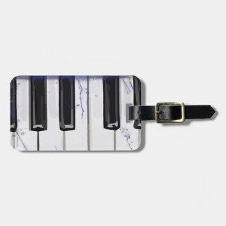 Tickle das Elfenbein-Klavier Gepäckanhänger