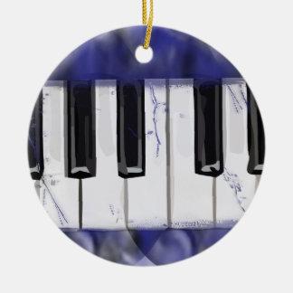 Tickle das Elfenbein-Klavier Keramik Ornament