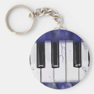 Tickle das Elfenbein-Klavier Schlüsselanhänger