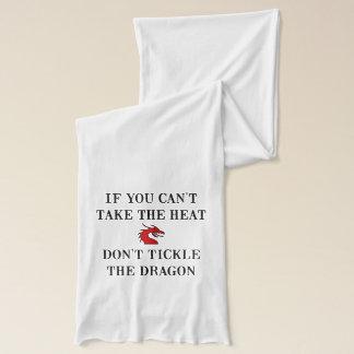 Tickle den Drachen Schal
