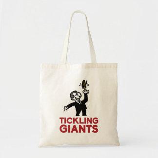 Tickling Giants-Logo-Tasche Tragetasche