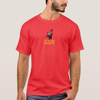 Tickling Giants-Rot-T - Shirt