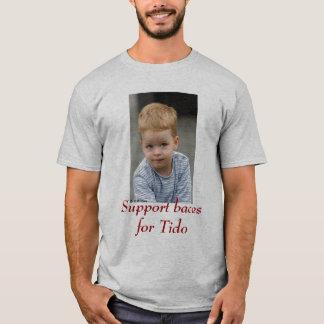 tido, Unterstützungsbaces für Tido T-Shirt