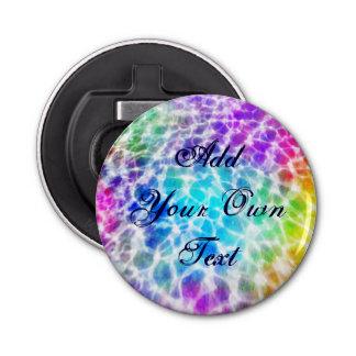 Tiedye Hippie-gewellter Regenbogen-Effekt Flaschenöffner