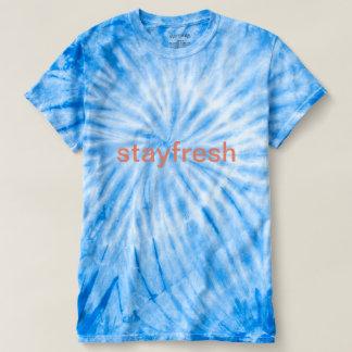 tiedye königliches T-Stück T-shirt