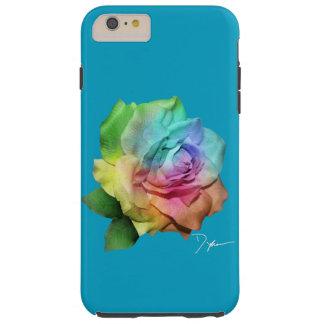 TieDye Rose Tough iPhone 6 Plus Hülle