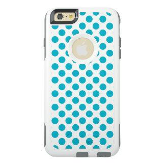 Tiefe Aqua-Tupfen OtterBox iPhone 6/6s Plus Hülle