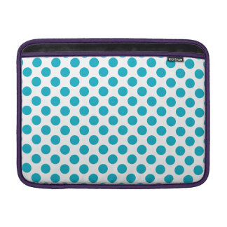 Tiefe Aqua-Tupfen Sleeve Fürs MacBook Air
