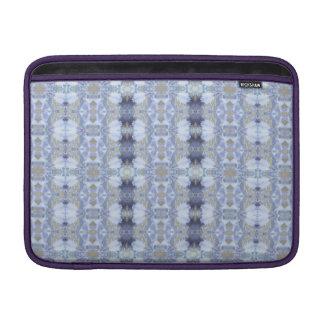 Tiefe blaue Iris-Garten-Rickshaw Macbook MacBook Air Sleeve